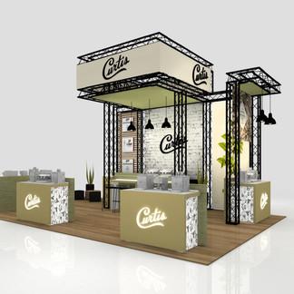Custom Exhibit Design For Curtis