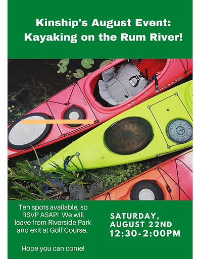Kinship's August Event_ Kayaking on the