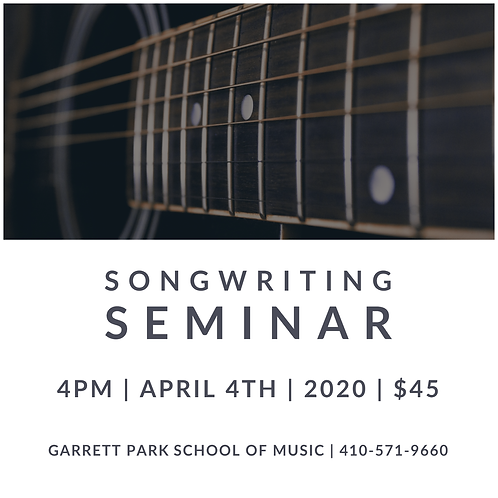 Songwriting Seminar