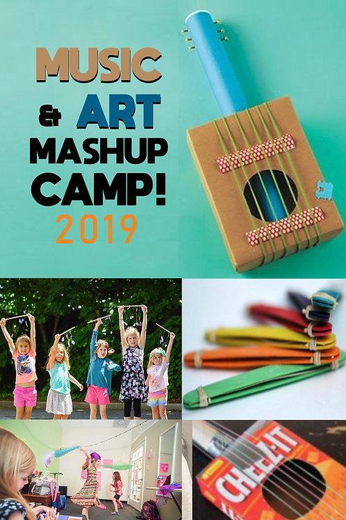 Music & Art Mashup Camp