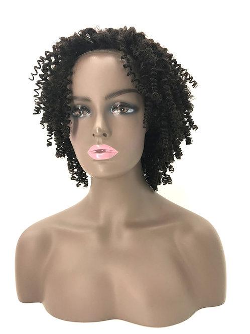 Custom Brazilian Afro Kinky Curly Wig  *Short