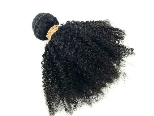 Indian Afro Kinky Curly Bundle  RAW/ 12'