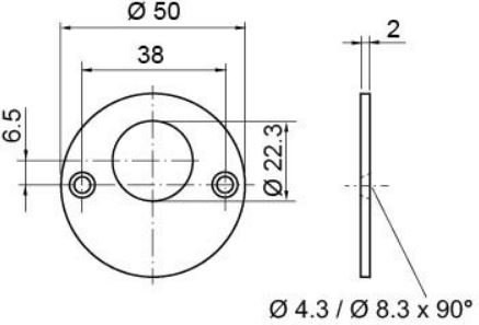 Rosette rund I RZ I 1514-23C