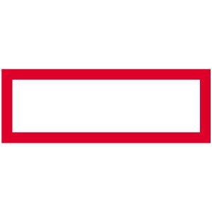 Hinweisschild leer / individuell