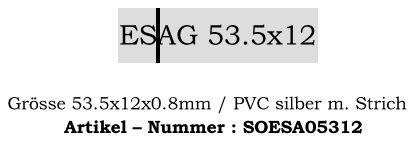 ESAG 53.5x12mm