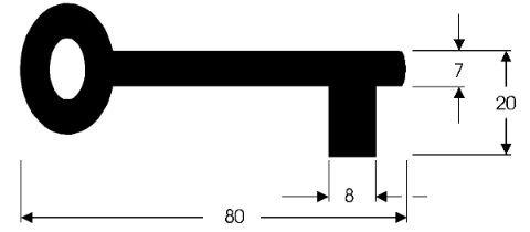 Norm-Ziffer-Schlüssel I C80