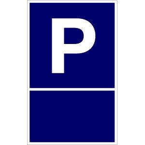 PP-Schild leer / individuell