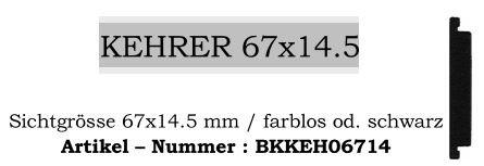 Kehrer 67x14.5mm