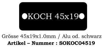 Koch 45x19mm