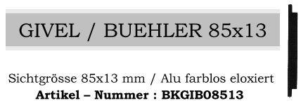 Givel/Bühler 85x13mm