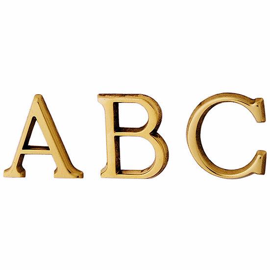 Grossbuchstaben A-Z I 30/50/80mm