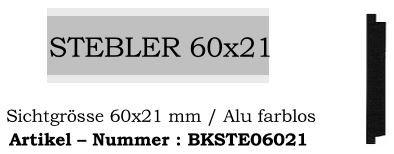 Stebler 60x21mm