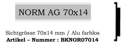 Norm AG 70x14mm