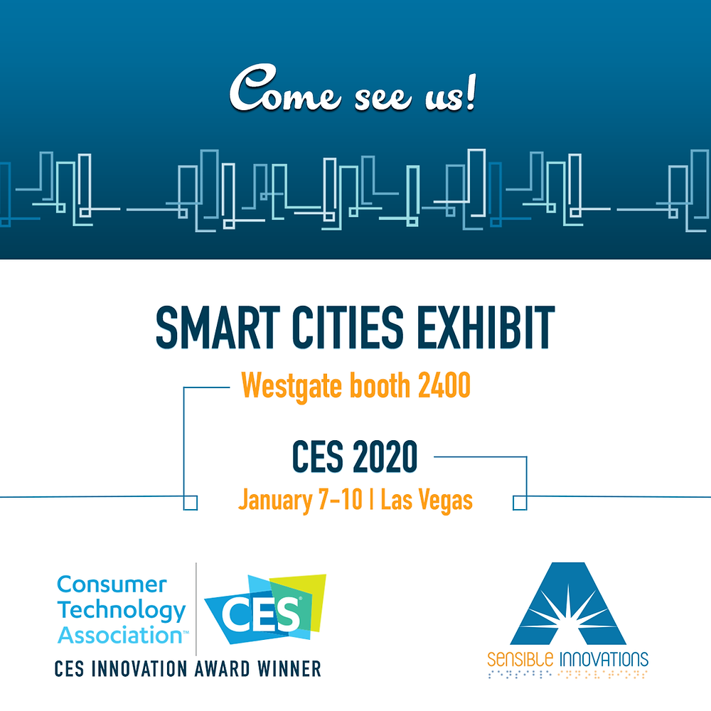 Come see us at Smart Cities Exhibit at CES 2020 in Las Vegas!