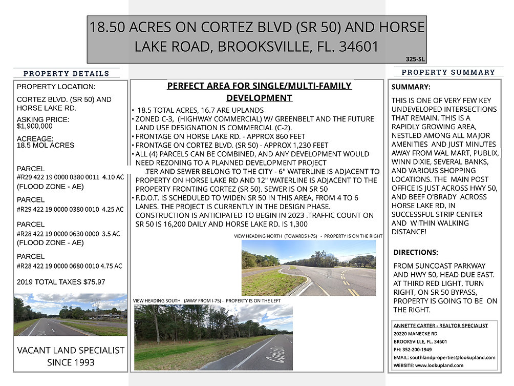 325-SL HORSE LAKE RD WEB INFO PAGE - Unt