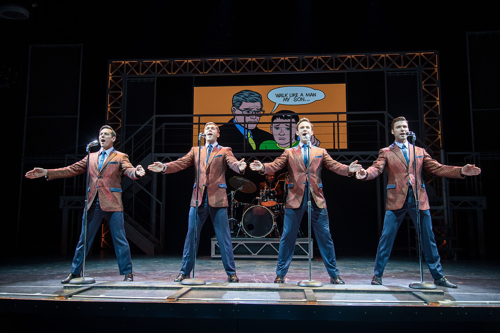 Norwegian Bliss stages the first Jersey Boys production at sea.