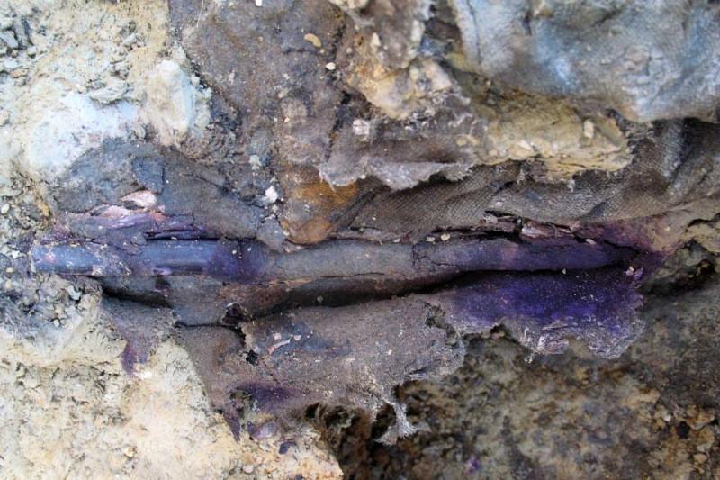 Crayon de Poilu, fouilles archéologiques