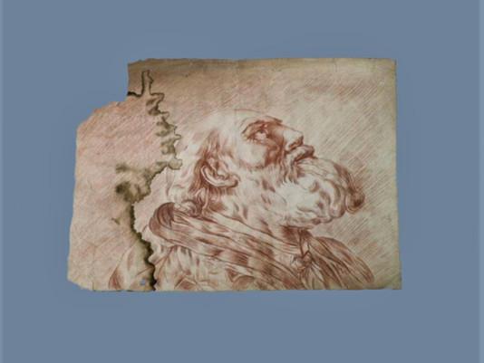 Cas de conservation-restauration d'un dessin (translation available)