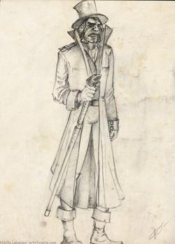 Dark Victorian character
