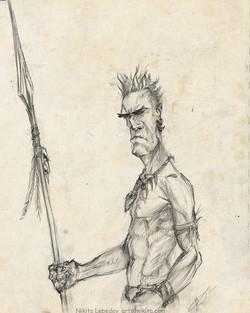 Tribal guy