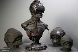 Cyborg maquette