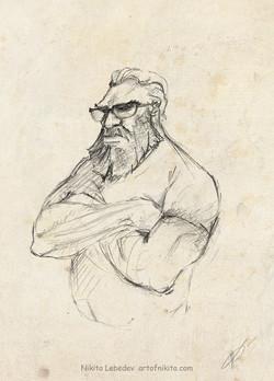 Serious dude