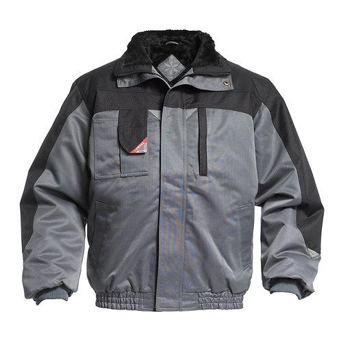 Pilotjakke - grå/sort | Pilotjacke - grau/schwarz