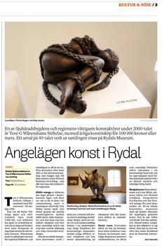 Rydals museum, Nutida Sjuhäradskonst
