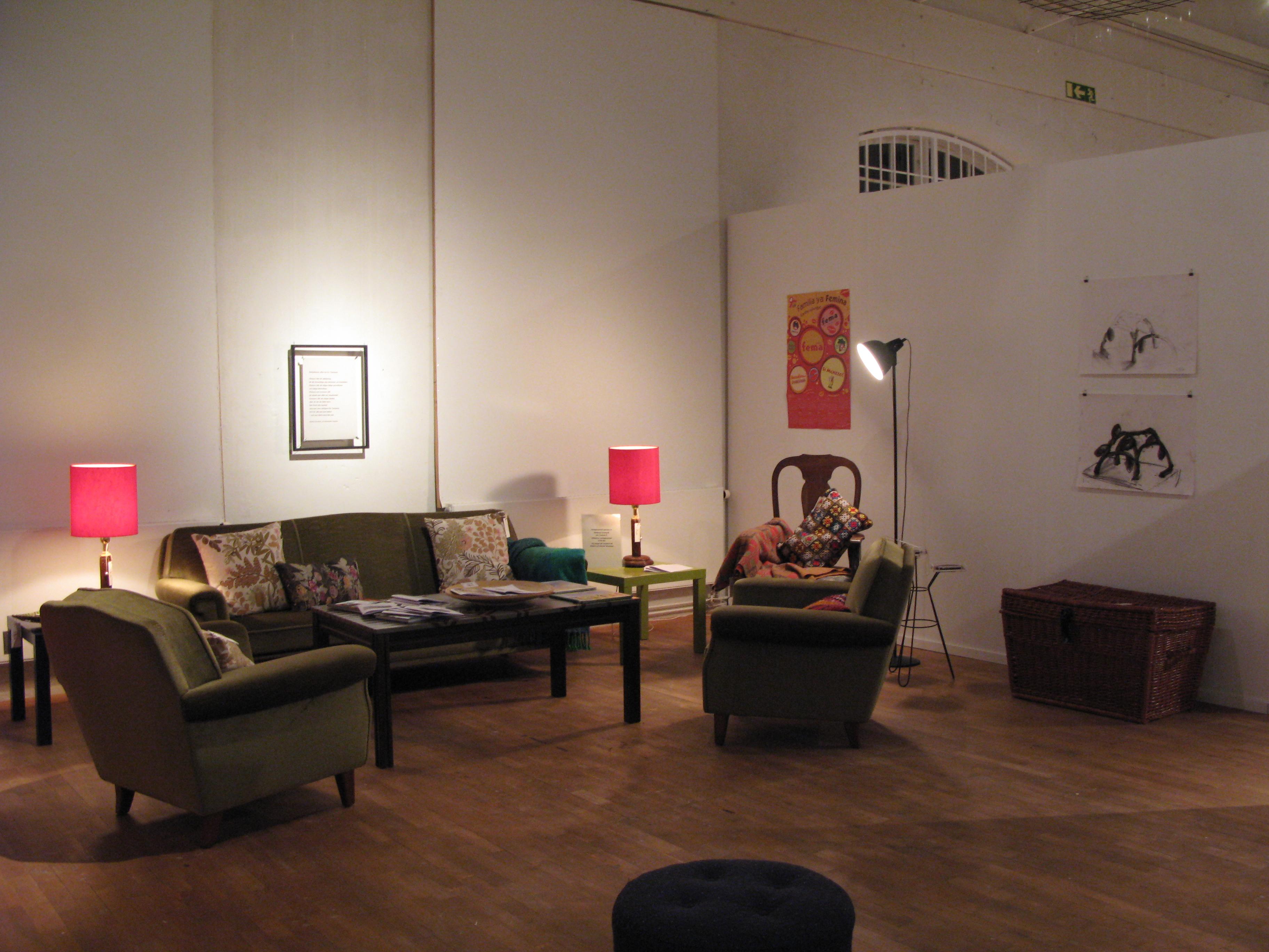 Rydals museum vardagsrummet
