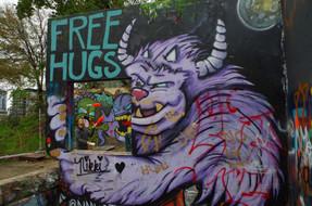 Baylor Street Graffiti Park