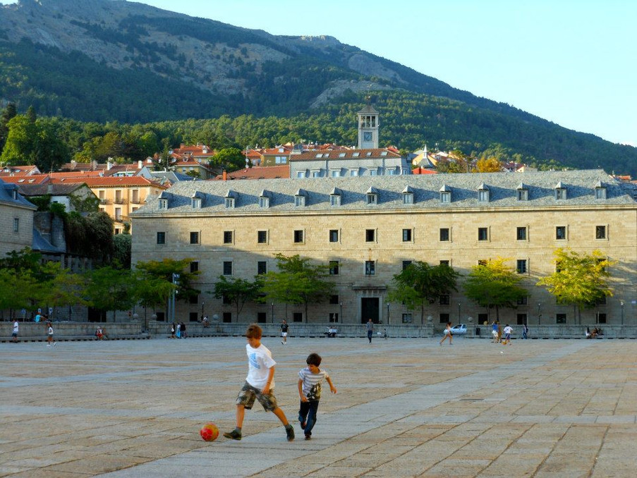 Football at El Escorial