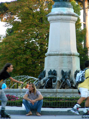 Stillness and Motion at Parque Retiro
