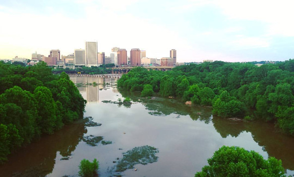 Richmond exists because of this river.