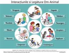 Interactiunile si legatura Om-Animal (poster)