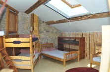 Chambres 4 lits