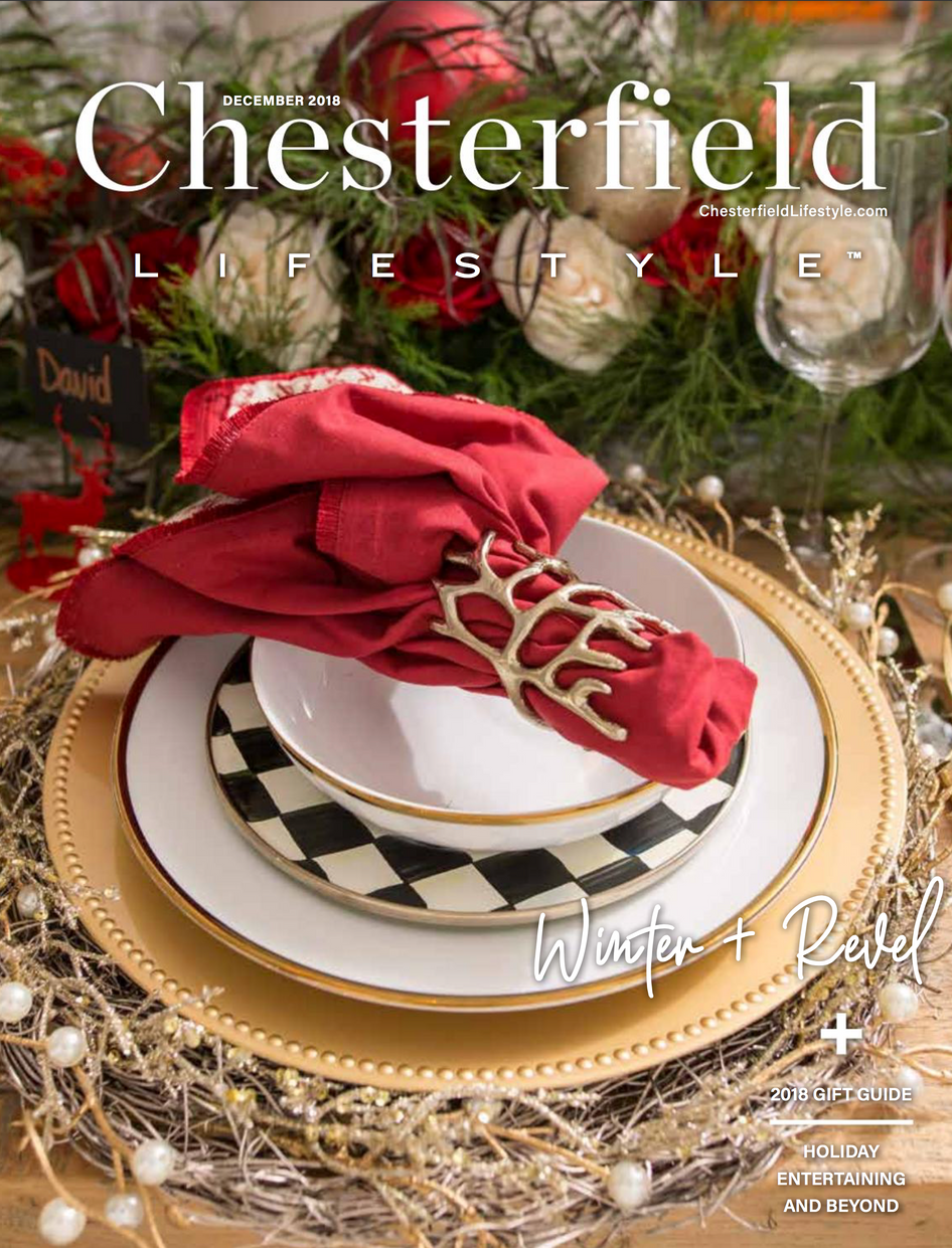 Cesterfield Lifestyle Magazine Cover