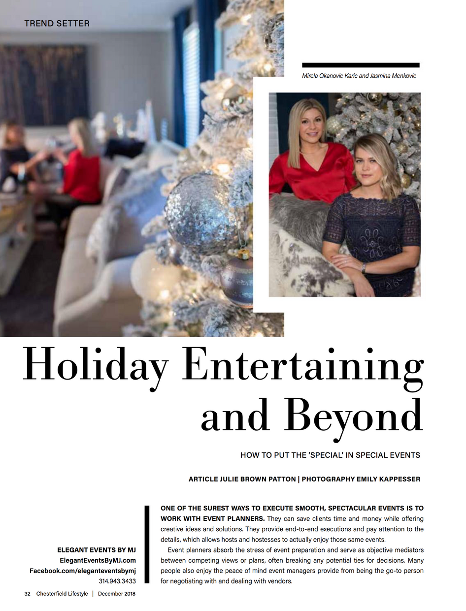 Holiday Entertaining and Beyond