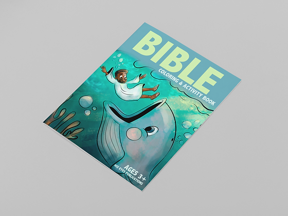 Bible Coloring & Activity Book