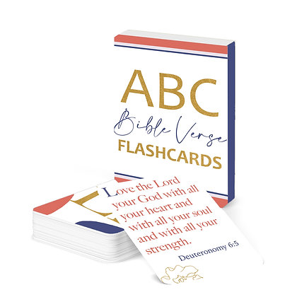ABC Bible Verse Flash Cards