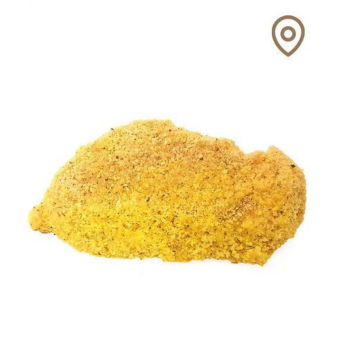 Tranche de poulet panée au curry - 150g
