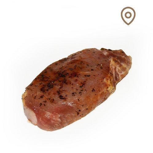 Tranche de filet marinée porc ~110g/pcs