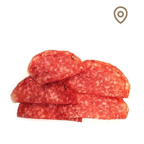 Salami au poivre - barquette 80g