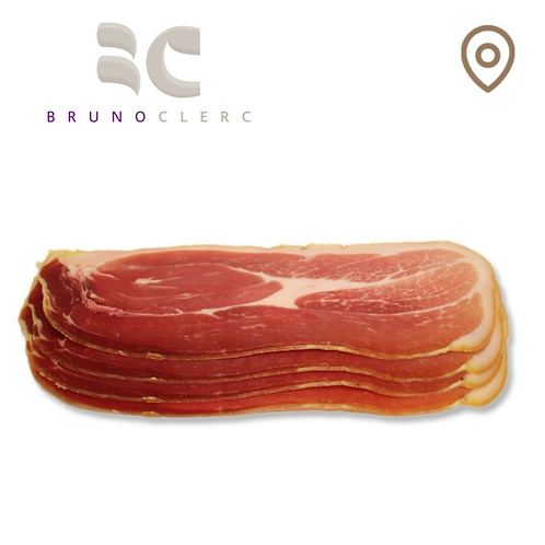 Jambon cru en tranches - Porc - barquette - 100g