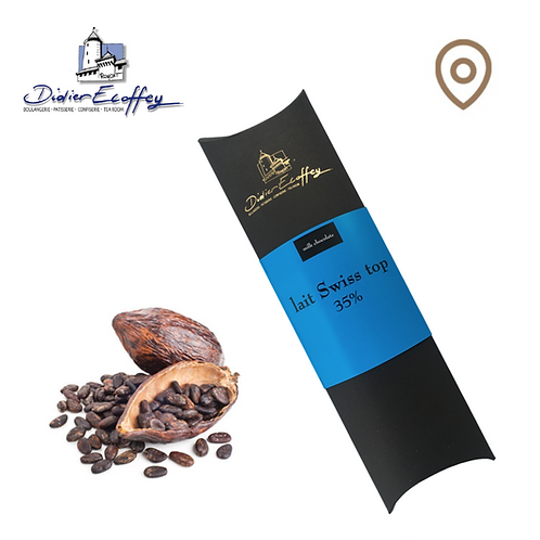 Chocolat au Lait - Lait Swiss Top  35% - 100g