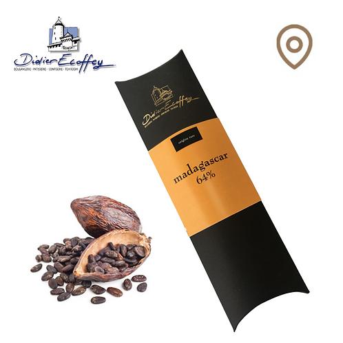 Chocolat Foncé -  Madagascar 64% - 100g