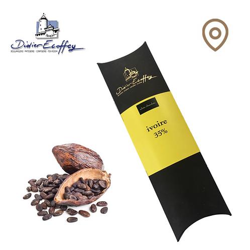 Chocolat blanc - Ivoire 35% - 100g