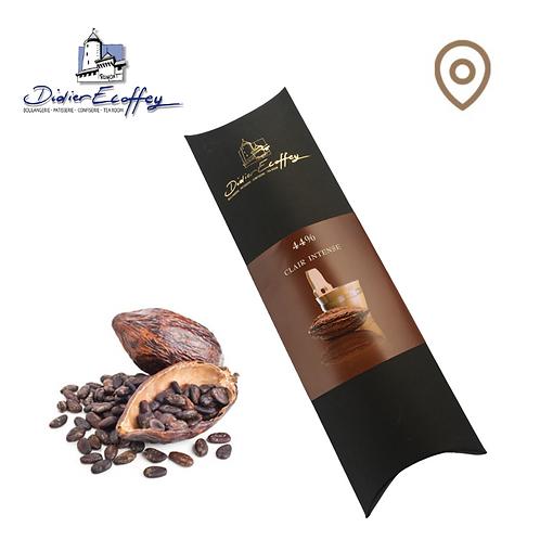 Chocolat foncé au Lait - Clair Intense 44% - 100g