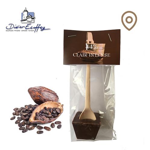 Cuillère en chocolat - Clair Intense 44% Chocolat Foncé au Lait - 1pce