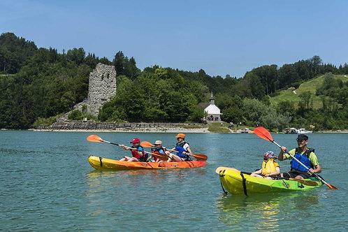 Kayak en Famille - demi-journée