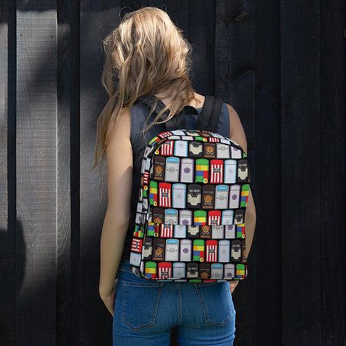 AOP park trash backpack
